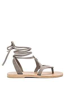 Lorne Sandal in Light Grey Nubuck