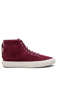 SK8-Hi Moc Sneaker en Port Royale & Blanc De Blanc