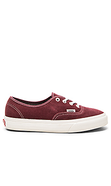 Authentic Sneaker en Red Mahogany