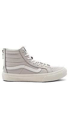 SK8-Hi Slim Zip Sneaker en Chime & Blanc De Blanc