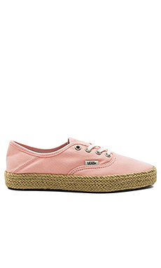 Authentic Espadrille en Tropical Peach