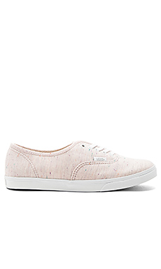Authentic Lo Pro Sneaker en Rose & Blanc Pur