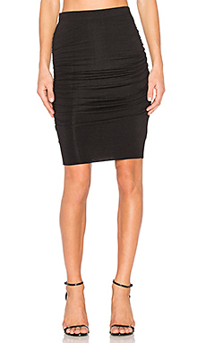 Ardrin Midi Skirt in Black