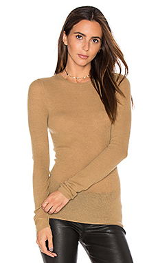 Ribbed Sweater in Camel