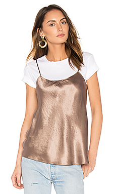 Satin Cami in Coffee