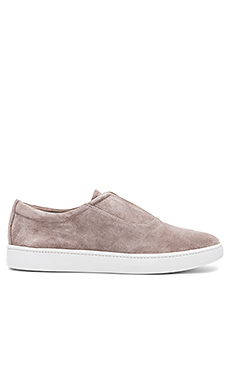 Viktor Sneaker en Light Woodsmoke Suede