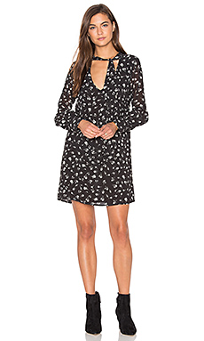ROBE COURTE FALL FLORAL