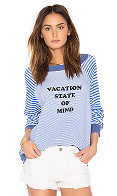 Vacation State of Mind Top en Multicolore