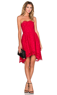 Isabelle Dress in Red