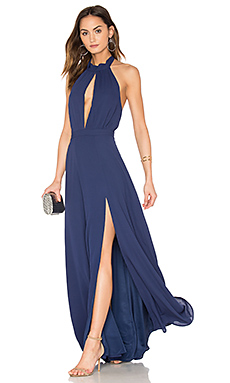 Starlet Maxi Dress in Navy
