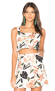 Natives Crop Camisole en Imprimé