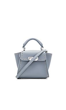 Eartha Iconic Top Handle Mini Bag – 象皮色