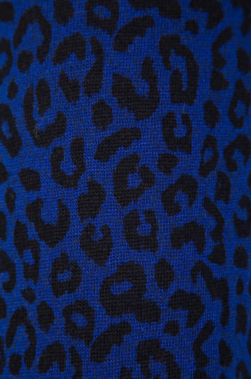 obey lola 豹纹印花运动裤 – 深蓝色